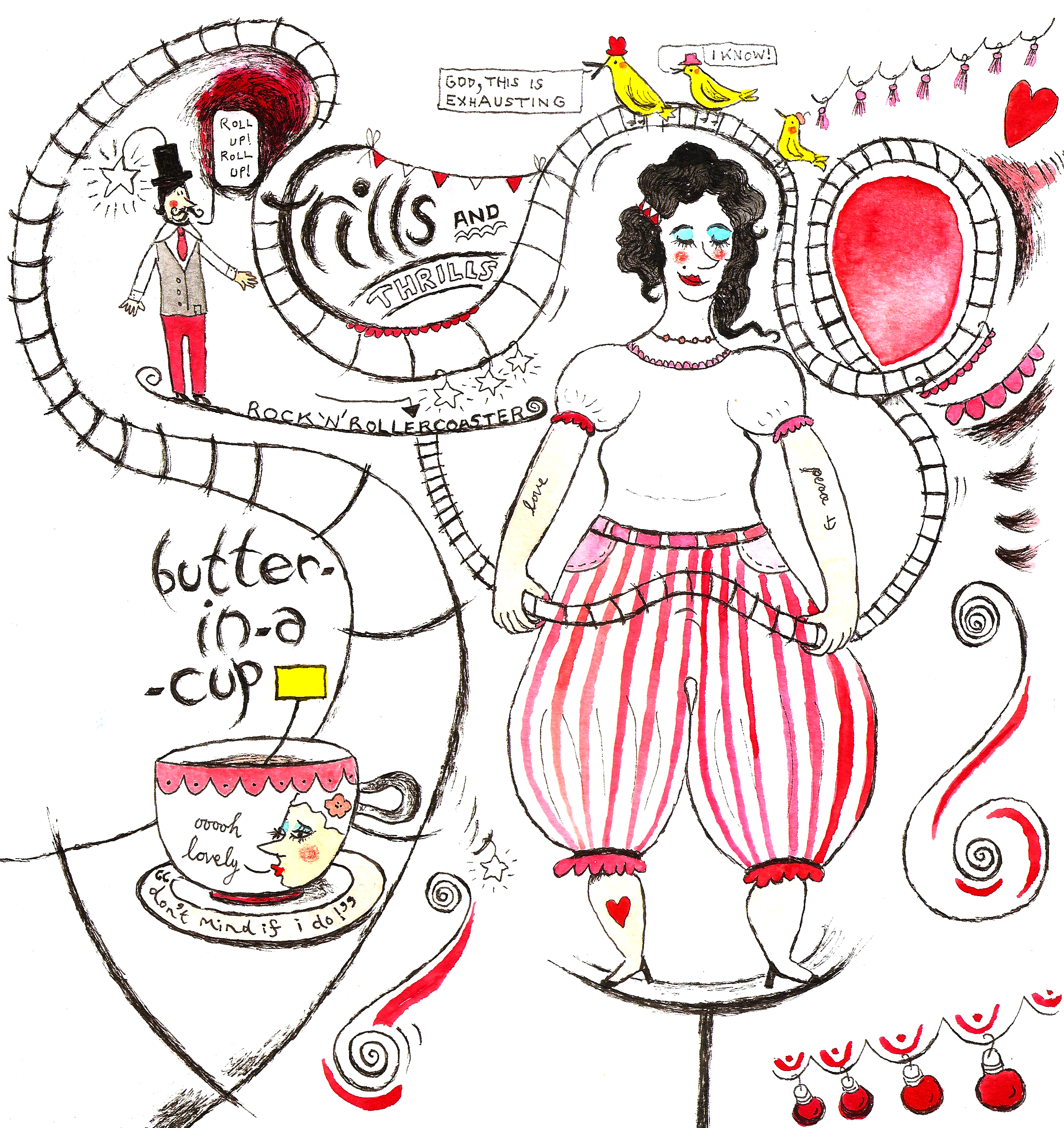bands - frills and thrills by butter in-a-cup